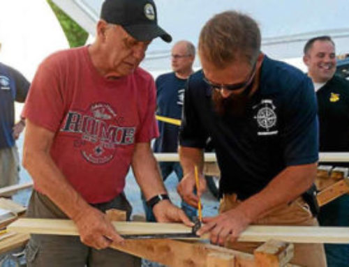 Daily Freeman Article on The Veterans Wooden Boat Workshop