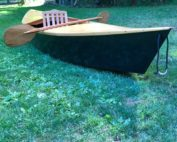 First Kayak built for the our project, Rembering the Fallen.